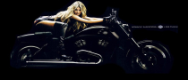 Marisa Miller Ponies Up for Harley Davidson