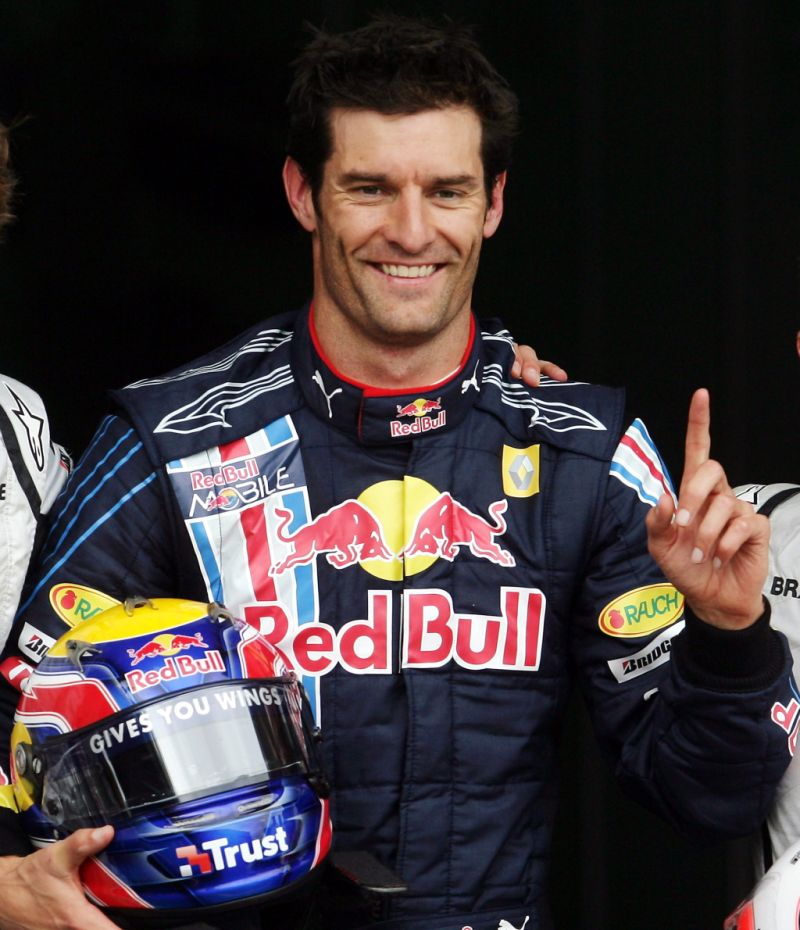 German Race Car Driver Red Bull