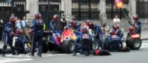 Mark Webber Takes Red Bull to the Streets of London [Video]