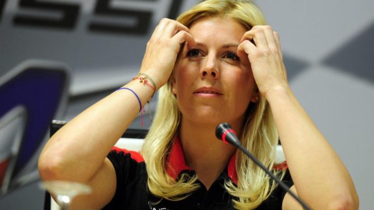 marussia f1 driver maria de villota loses eye after crash autoevolution. Black Bedroom Furniture Sets. Home Design Ideas