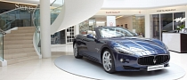 Maserati and Poltrona Frau Showcased at Design Centre, Chelsea Harbour