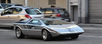 Maserati Boomerang Concept Spotted in France