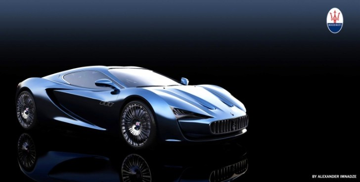 Maserati Bora Rendered Back to Life