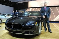 The newly-launched Quattroporte Sport GT S