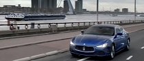 Maserati Drives the Ghibli in The Netherlands [Video]