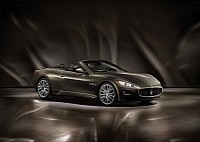The exclusive Maserati GranCabrio Fendi