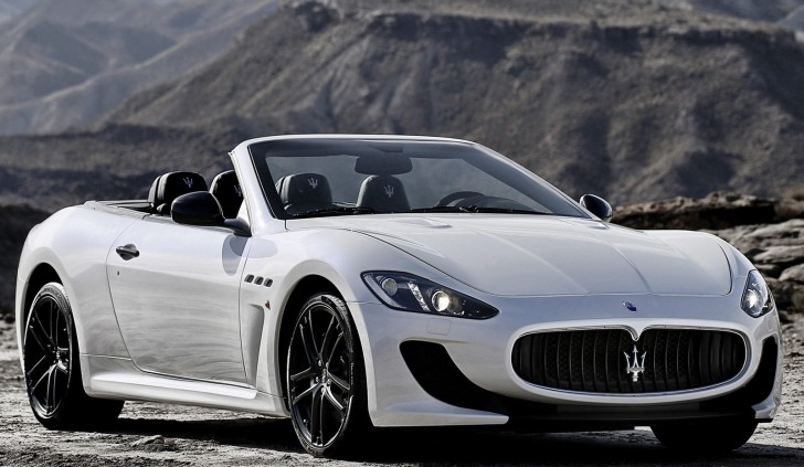 Maserati GranCabrio MC Stradale Revealed ahead of Paris