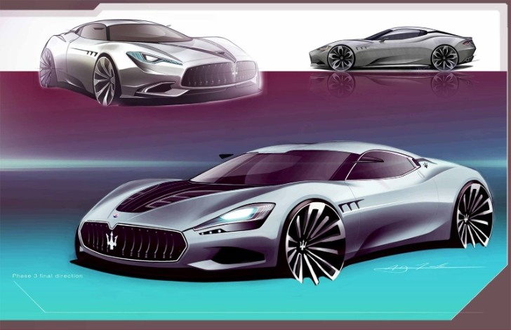 Maserati GranCorsa Could be the Trident's Next Sportscar [Photo Gallery]