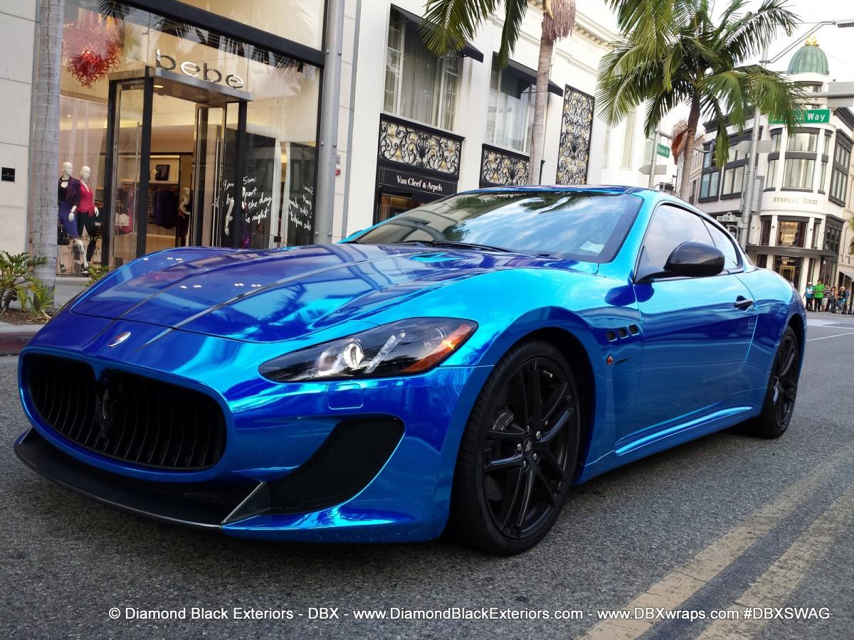 Maserati granturismo blue - photo#6