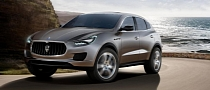 Maserati Levante SUV Production to Commence in Late 2014