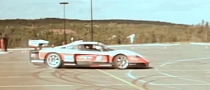 Maserati MC12 Drifting in Targa Newfoundland [Video]