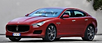 Maserati Plans to Sell 13,000 Quattroporte Sedans in 2013
