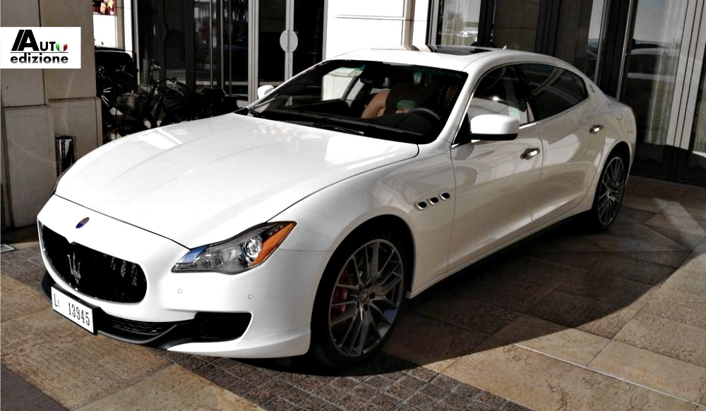 maserati quattroporte looks stunning in the sunlight autoevolution. Black Bedroom Furniture Sets. Home Design Ideas