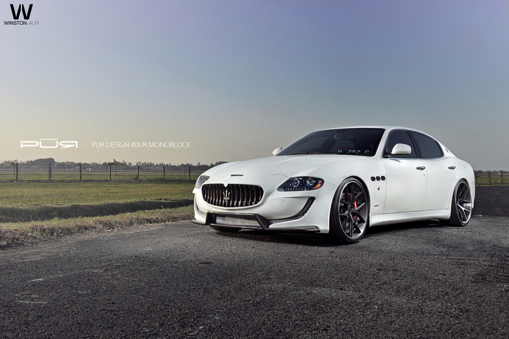 New Maserati Body Kit Quattroporte