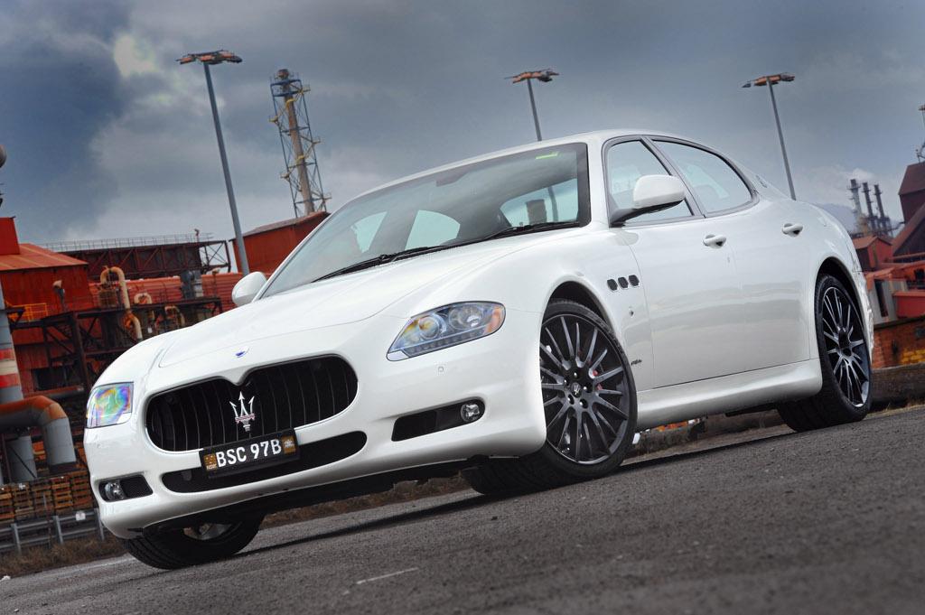 Maserati Quattroporte Sport Gt S Mc Sportline Breaks Cover