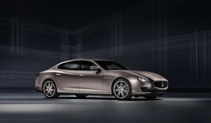 Maserati Quattroporte Zegna Concept Headed for Frankfurt 2013
