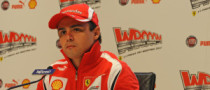 Massa Does Seat Fitting, Simulator Driving at Maranello