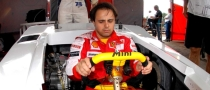 Massa Plays Football, Goes Karting in Brazil