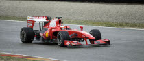 Massa Resumes Testing with New Ferrari F60