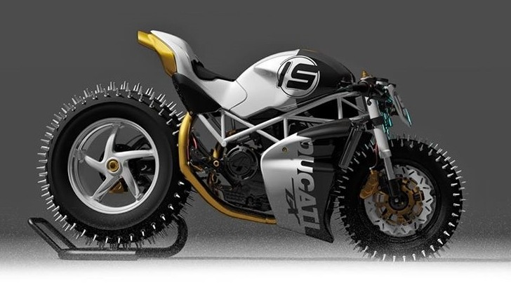 Master Snow And Ice With This Winter Ready Ducati Monster