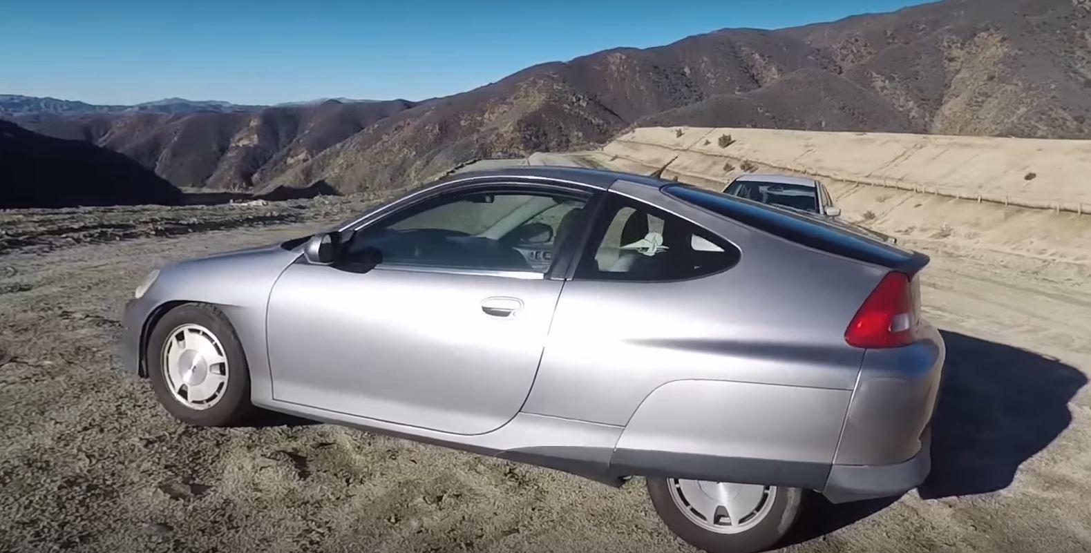 Matt Farah Reviews 2000 Honda Insight Superleggera With 250 000 Miles