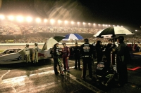 Rain delay at the Daytona 500