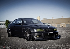 Matte Black E46 M3 Means Business [Photo Gallery]