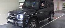 Matte Black G63 AMG in Dubai [Video]