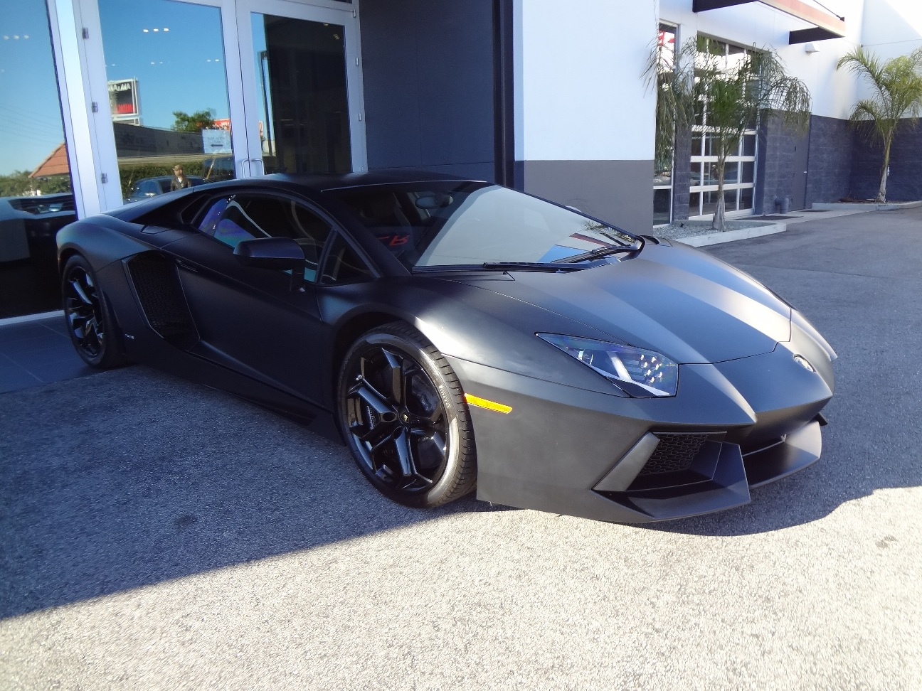 Matte Black Lamborghini Aventador Sold. Was It Kanye's ...