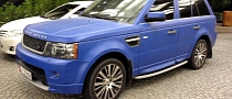 Matte Blue Range Rover Sport in Dubai [Video]
