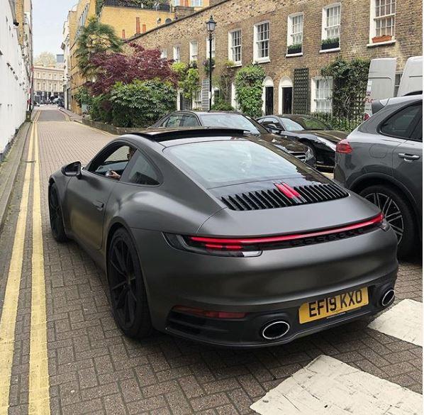 Matte Grey 2020 Porsche 911 Wrap Looks Like A Stealth
