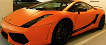 Matte Orange Lamborghini Gallardo Superleggera