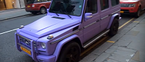 Matte Purple Mercedes G55 AMG [Video]