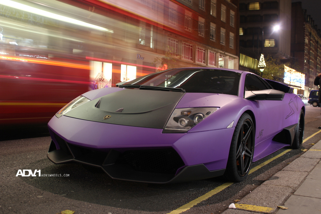 Matte Purple Murcielago Lp670 Sv Shines Autoevolution