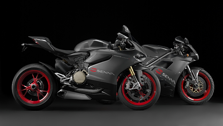 max biaggi buys the only ducati 1199 panigale s senna available in