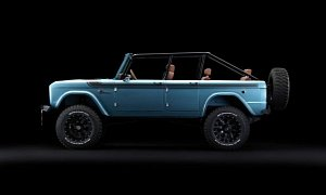 Developed As A Thank You To The Ford Motor Company For Announcing 2020 Bronco One Created By Maxlider Brothers Customs In Collaboration With Mjr