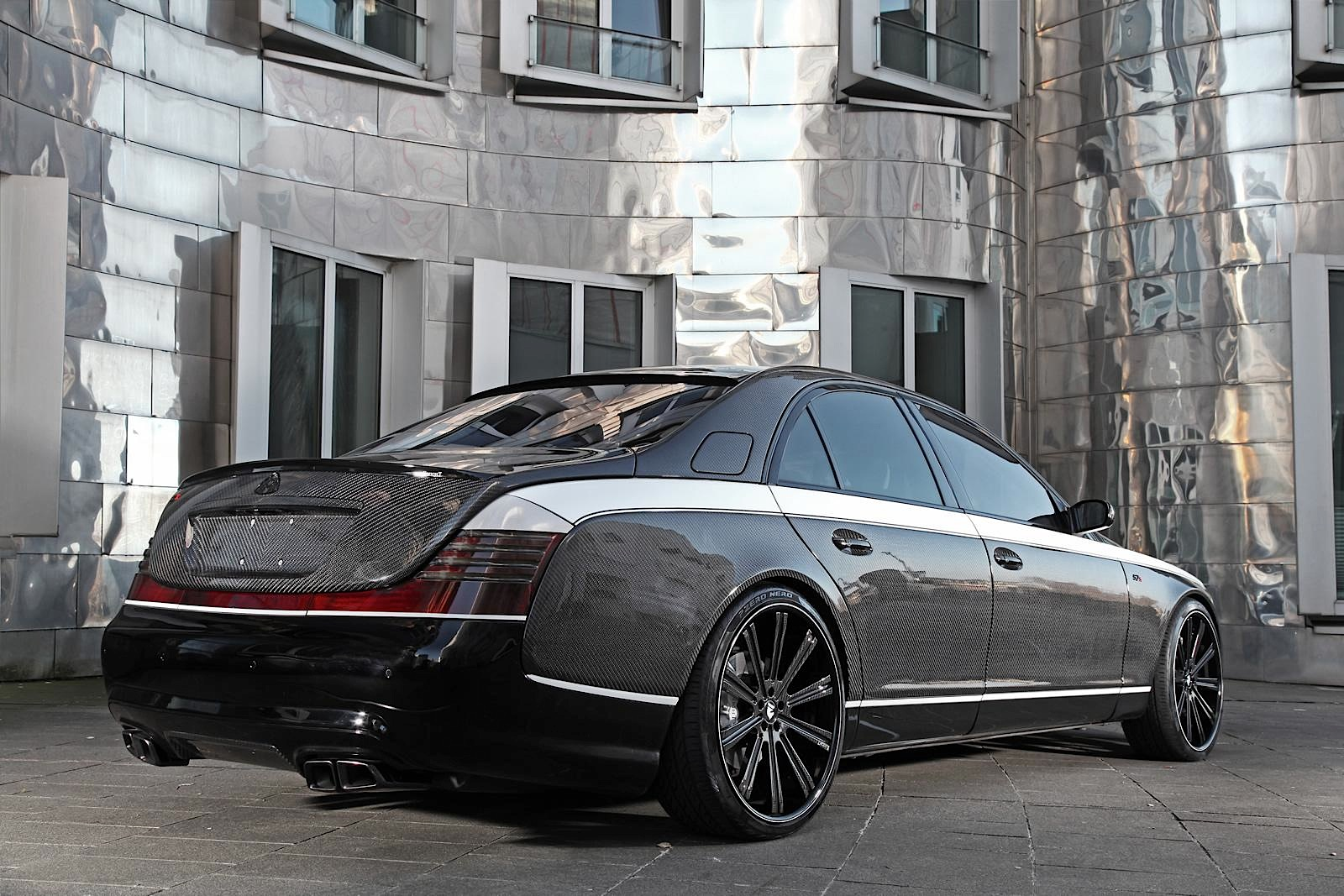 maybach 57sknight luxury is a carbon fiber wet dream - autoevolution