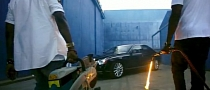 Maybach Destroyed by Kanye West and Jay-Z in Otis [Video]