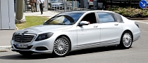 Maybach Nameplate Rumored to Return on Extra-Long Mercedes S-Class