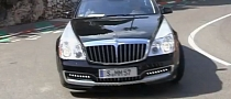 Maybach Xenatec 57S Sounds Good, Has Champagne Holder [Video]
