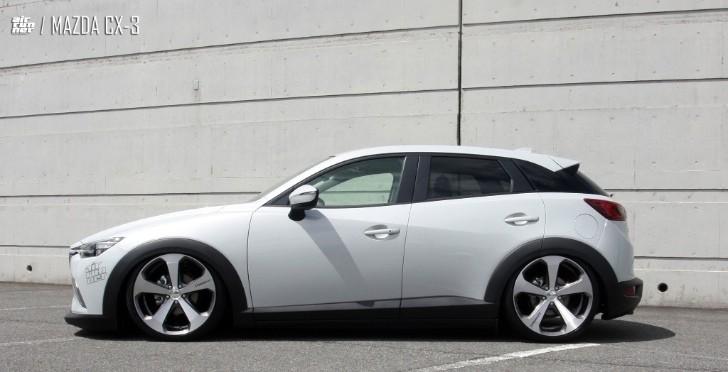 Mazda Cx 3 Air Runner Lowered On Lowenhart Lv5 Wheels
