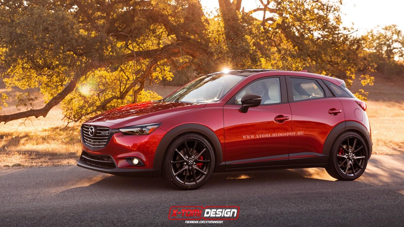 Mazda Cx 3 Mps Mazdaspeed Hot Crossover Model Rendered