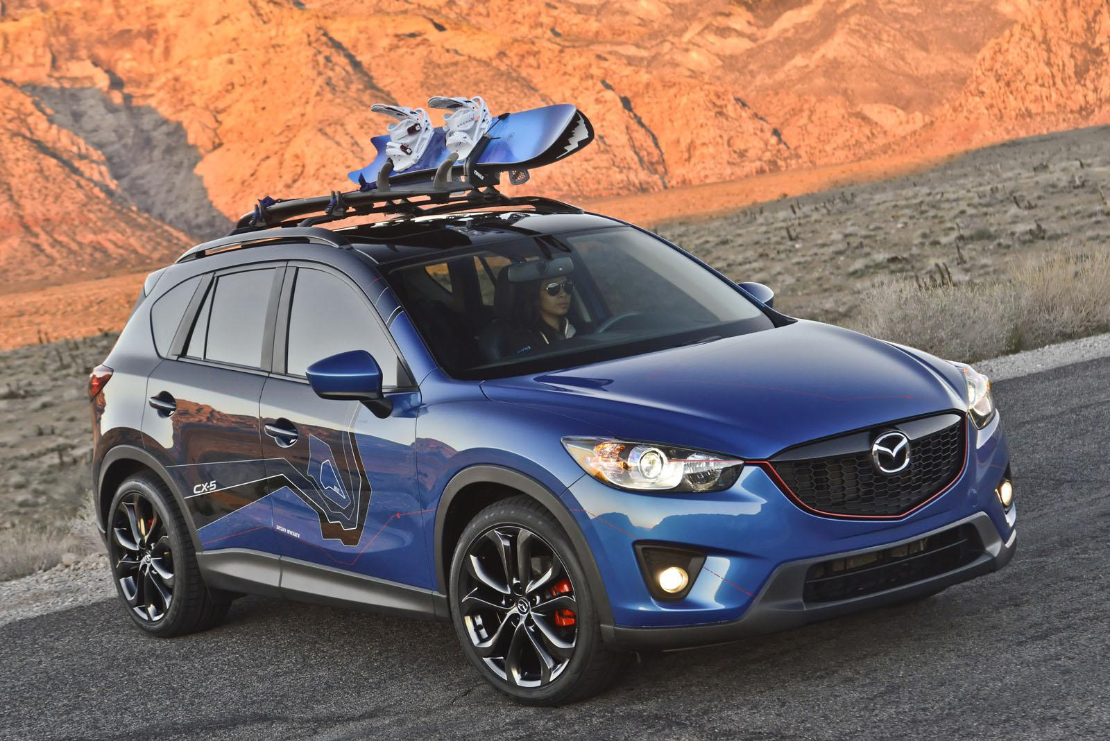 Mazda cx 5 180 attends 2012 sema autoevolution