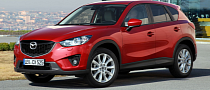 Mazda CX-5 Crashes During Automatic Braking Dealer Test in Japan