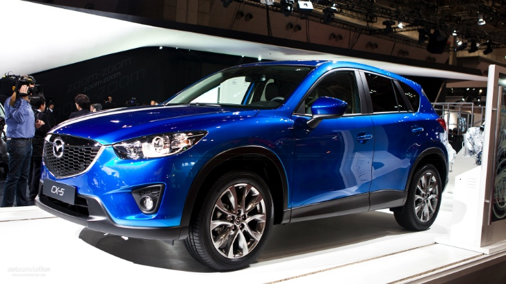 Mazda CX-5 Diesel Production Starts in Japan