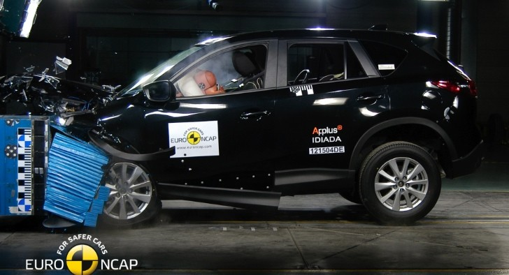 Mazda CX-5 Gets 5-Star Euro NCAP Rating [Video]