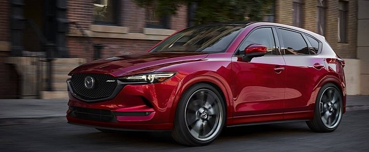 update mazda cx 5 mps rendered stunning suv with cx 9 turbo power could happen autoevolution. Black Bedroom Furniture Sets. Home Design Ideas