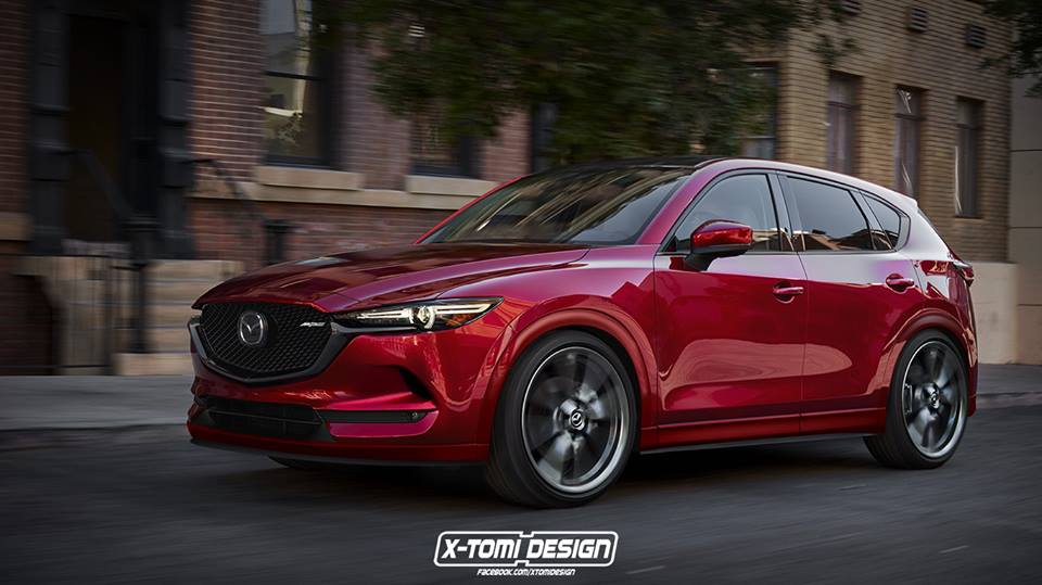 Mazda Cx 9 2017 >> UPDATE: Mazda CX-5 MPS Rendered, Stunning SUV with CX-9 Turbo Power Could Happen - autoevolution