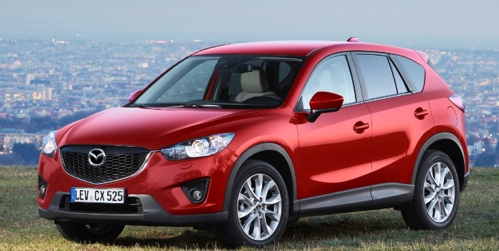 Mazda CX-5 Registers Hefty Sales
