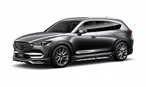 Mazda CX-8 Gets Aggressive Body Kit from DAMD